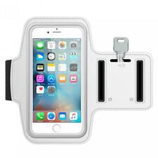 RUNNING ARMBAND SPORTS WHITE GYM WORKOUT CASE COVER BAND ARM STRAP for PHONES