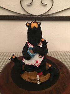 "Bearfoots Bear Jeff Fleming ""HANDFUL"" Big Sky Numbered"