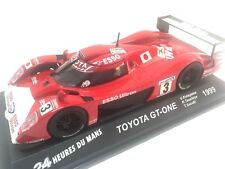 TOYOTA GT-ONE 1999 Katayama 24 heures du Mans IXO ALTAYA 1/43 DIECAST