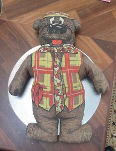 1965 Vintage Retro Humphrey B Bear Foam Filled Toy