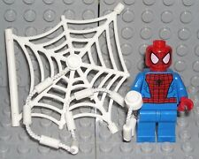LEGO Marvel Super Heroes SPIDER-MAN MINIFIGURE w/ Web String AUTHENTIC NEW 76059