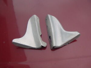 VG OE Pair Rear Body Small Stone Guards Triumph TR2 TR3 TR3A TR3B LH + RH pair