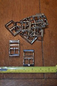 Webbing Collar Buckles - Various Sizes - New - 10 per pack
