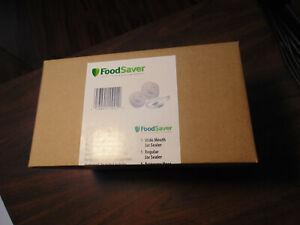 FoodSaver Jar Sealer Set Regular & Wide Mouth -  Accessory Hose included