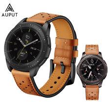 Leder Ersatz Uhrenarmband für Samsung Gear S3 S2 Galaxy Watch 42mm /46mm 20/22mm