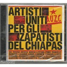 AUZC - ARTISTI UNITI VASCO ROSSI 99 POSSE LITFIBA LIGABUE NOMADI CD 1998 SEALED