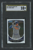 2013 Bowman Chrome Mini Aaron Judge RC Rookie #311 SGC 10 Pristine Gold Label