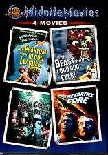 NEW MGM  MIDNITE 4MOVIES SET  - CLASSIC HORROR - VINCENT PRICE, DOUG McLURE ,