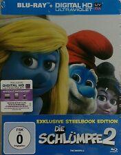 Blu-ray * Die Schlümpfe 2 Steelbook * NEU OVP * (Teil 2)
