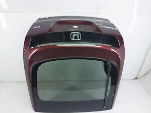 2010-2012 Honda Crosstour Exl Trunk Lid Deck Tail Gate Tailgate Hatch Red