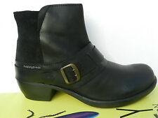 Fly London Mont Chaussures Femme 40 Bottines Fourrées Chelsea Bottes Mel UK7 New