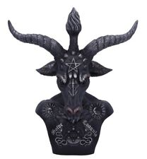 Large Celestial Baphomet Bust. Occult Goat Of Mendes.