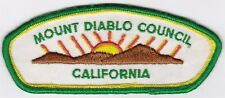 CSP - MOUNT DIABLO COUNCIL - T-1 - MERGED IN 1992 - FIRST ISSUE CSP