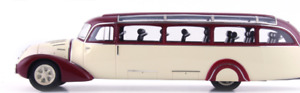 Autocult ATC10008 - Mercedes Benz O3750 Streamline bus ivory red Germany  1/43