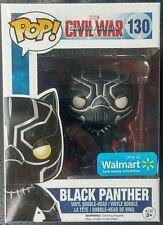 BLACK PANTHER ( WALMART ONLY) MARVEL BOBBLEHEAD (CIVIL WAR) AVENGERS FIGURE #130