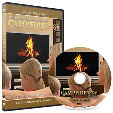 Crackling Fireplace DVD: Campfire For Your Home Edition #7