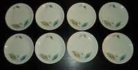 "(8) Paden City Pottery BISCAYNE 6 1/2"" Bread & Butter Plates"