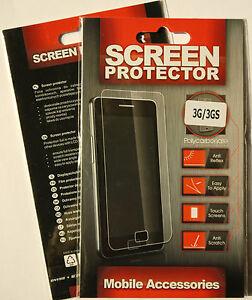 (PRL) iPHONE 3 G S SCREEN PROTECTOR SCHERMO PROTEZIONE ANTI REFLEX SCRATCH TOUCH