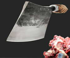 Kitchen Knife Handmade Chopping Butcher Chef Forged Chopper Meat Knives Cutlery