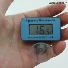 Blue Digital LCD Aquarium Fish Tank Waterproof Thermometer Meter aquarium O1S7