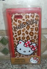 NIB HELLO KITTY Leopard Red Bow PHONE COVER CASE iPhone 6 NEW
