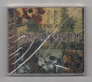 MALEVOLENT CREATION - The fine art of murder CD rare 1998 Metal SEALED