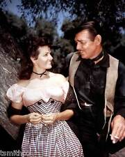 Clark Gable with Jane Russell 8x10 Photo 010
