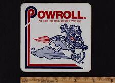 POWROLL Original Vintage STICKER Decal Honda XL250 Z50A CT70 SL70 SL100 XR75