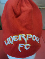 LIVERPOOL RED KOP FLEECE BEANIE  BY WARRIOR ONE SIZE BRAND NEW WITH TAGS