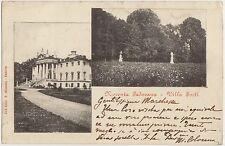 NOVENTA PADOVANA - VILLA FORTI - VEDUTINE (PADOVA) 1907