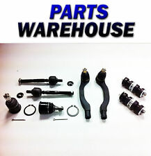 8 Pcs Inner Outer Tie Rod Ball Joint Sway Link Civic Crx Dx Si Lx 3 Yr Warranty