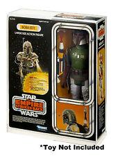 Star Wars Boba Fett Doll Acrylic Display Case