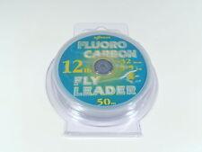 Fluorocarbon  Leader / Tippet, 12 lb , 50 Meters, 1 Spool