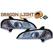 Paar leuchttürme scheinwerfer vorne TUNING OPEL TIGRA 94-00 chrome,mit Dayline