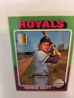 2001 Topps Reprints George Brett Through The Years #30 of #50        A613