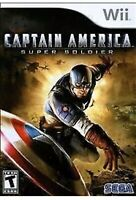 Captain America: Super Soldier Nintendo Wii Game Marvel Avengers Collectible U