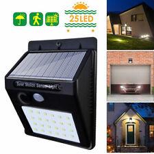 LED Wandleuchte Solarleuchte mit PIR Bewegungsmelder Außenlampe Gartenlampe DE