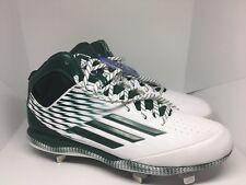 New Adidas Wheelhouse 3 Men Baseball Cleats Shoe Size 13 Green & White S84790
