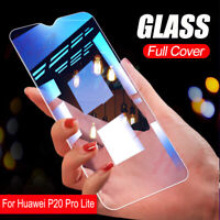 For Huawei P20 Pro Lite Premium Full Tempered Glass Film Screen Protector Cover