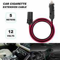 5m voiture cigarette allume-cigare 12v rallonge prise chargeur adaptateur BT