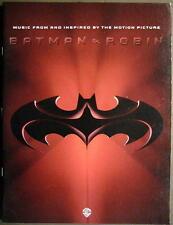 BATMAN & ROBIN - SOUNDTRACK NOTENBUCH ZUM FILM - TABULATUR - SMASHING PUMPKINS