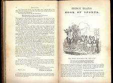 Pierce Egans Book of Sports & Mirror of Life 1847 of the Turf-Chase-Ring & Stage