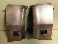 1976 1977 1978 1979 Cadillac Seville Rear bumper extension fillers