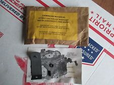 NOS GM VINTAGE QUADRAJET 4BBL RECALL CAMPAIGN KIT 1965 1966 CHEVROLET 66 BUICK