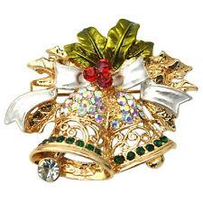 Bell gifts N3 Christmas Brooch Pin Xmas