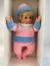 Vintage New SCHILDKROT GERMAN TURTLE MARK Blonde GIRL DOLL W/ BOX Rare Germany
