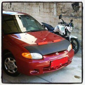 95-98 Hyundai Accent hood bra