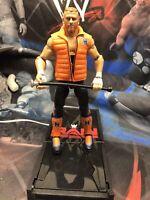 WWE Matt Elite Series 64 Figure Curt Hawkins Black Pants Variant GREAT SHAPE
