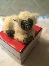 Lou Lou Sheep Scented Paper Weight New By Dora Mouse And Co England