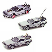 Back to the Future Diecast Set - Delorean Time Machine Models From All 3 Movies!